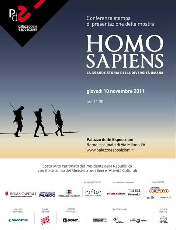 La storia dell'Homo Sapiens in mostra