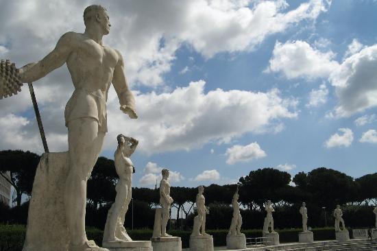 foro italico roma contemporanea