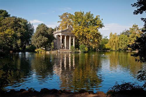 I giardini di Villa Borghese