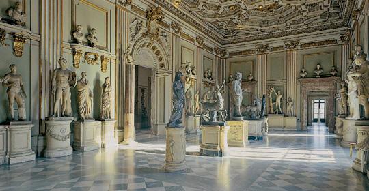 Musei Capitolini virtuali con Google Art Project