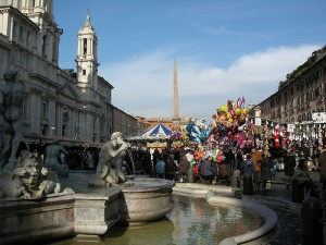 mercatini natale roma