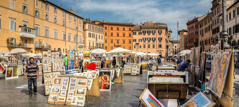 La storia di Piazza Navona