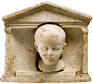 mini Pompei sotto il Vaticano