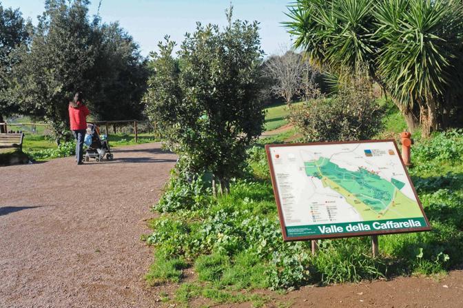 parco della Caffarella storia eventi