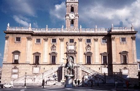 Piazza del Campidoglio a Roma