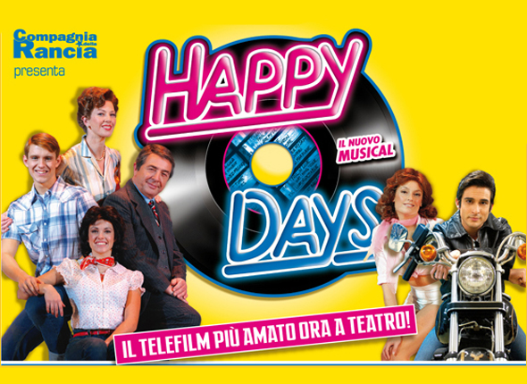 Il musical Happy Days a Roma