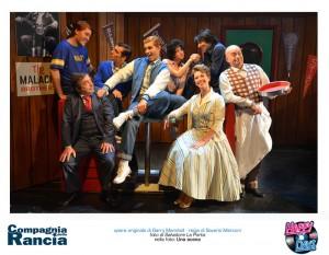 Alcune immagini del Musical Happy Days in scena a Roma