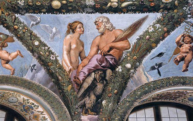 Gli affreschi di Raffaello a Villa Farnesina
