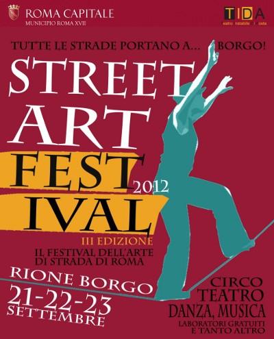 street art festival rione borgo roma