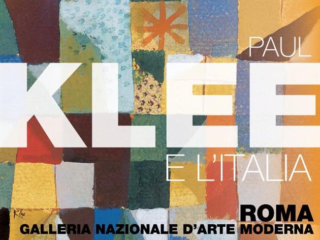 Paul Klee e l'Italia in mostra allo GNAM