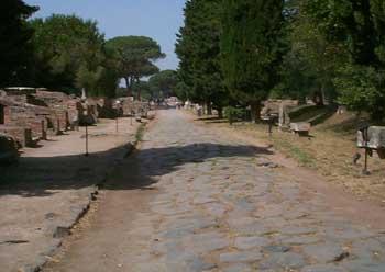 La via Ostiense