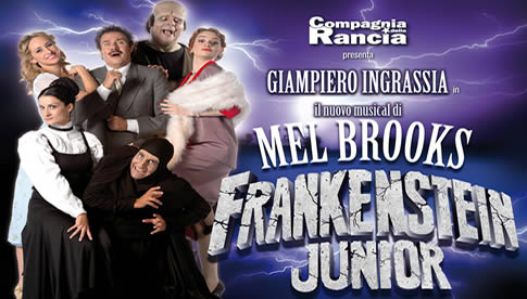 Frankenstein Junior il Musical a Roma