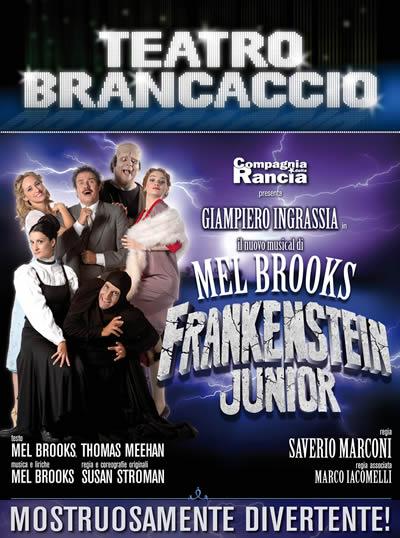 Frankenstein Junior Musical Roma al Brancaccio
