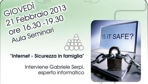 Evento Internet Sicurezza e famiglia