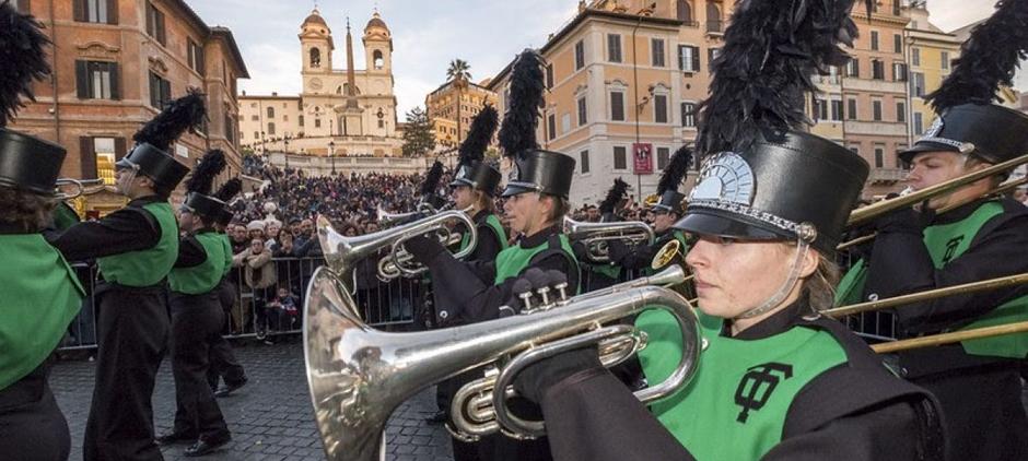 La parata del nuovo anno 2020 a Roma