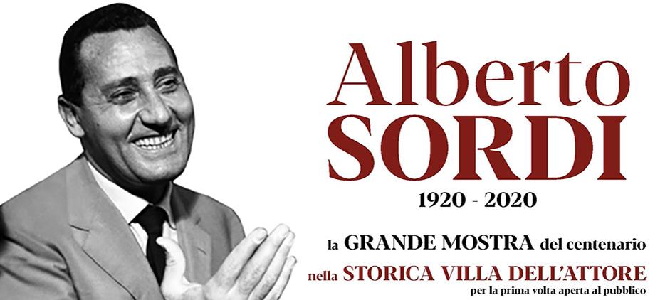 Mostra Alberto Sordi il Centenario