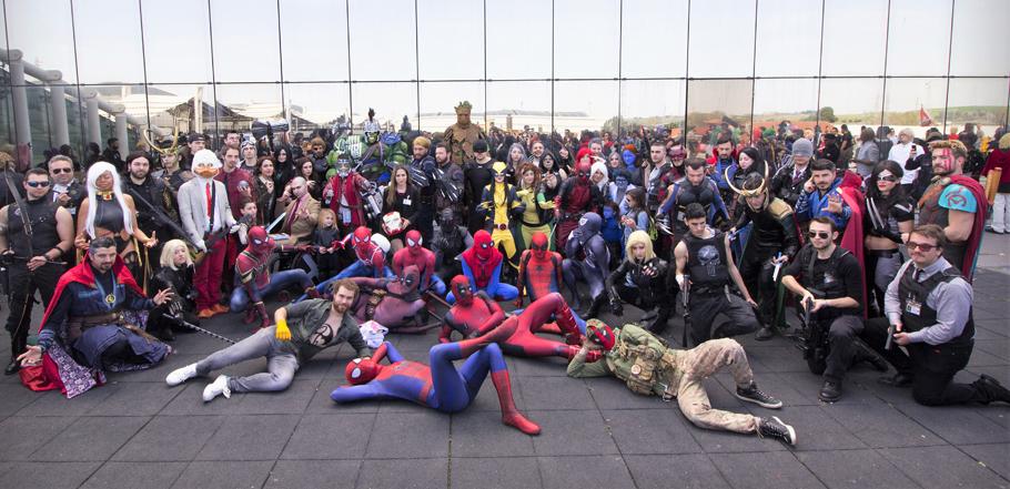 romics 2020 cosplay