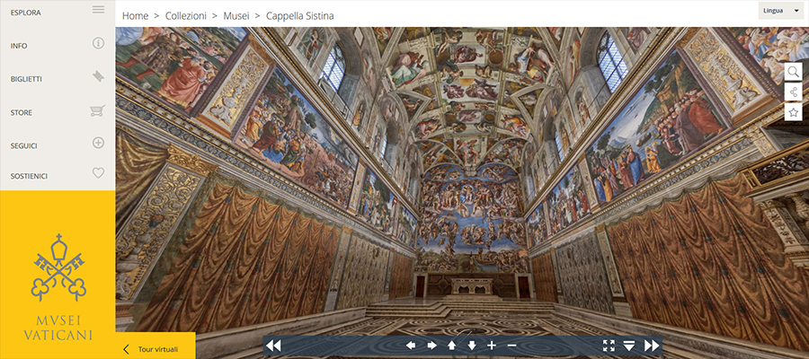 musei vaticani online tour virtuale