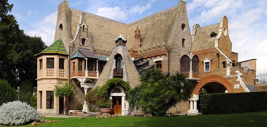 tour online villa torlonia