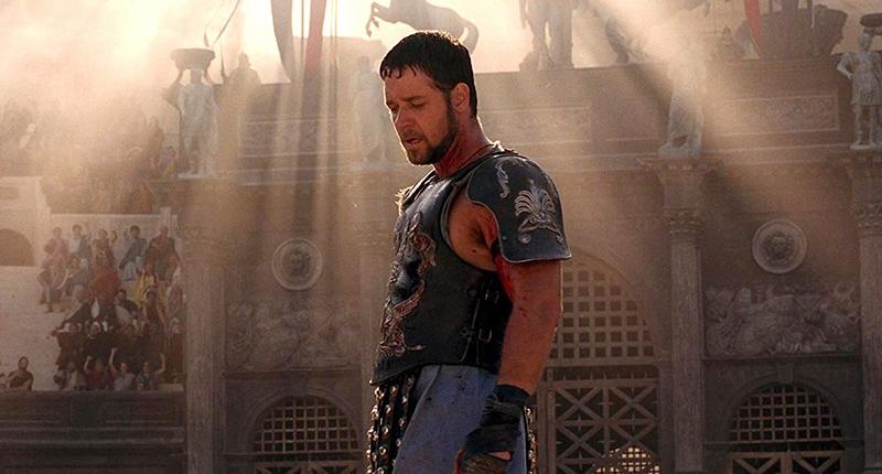 il gladiatore film su roma