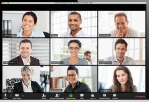 conferenze e meeting su zoom